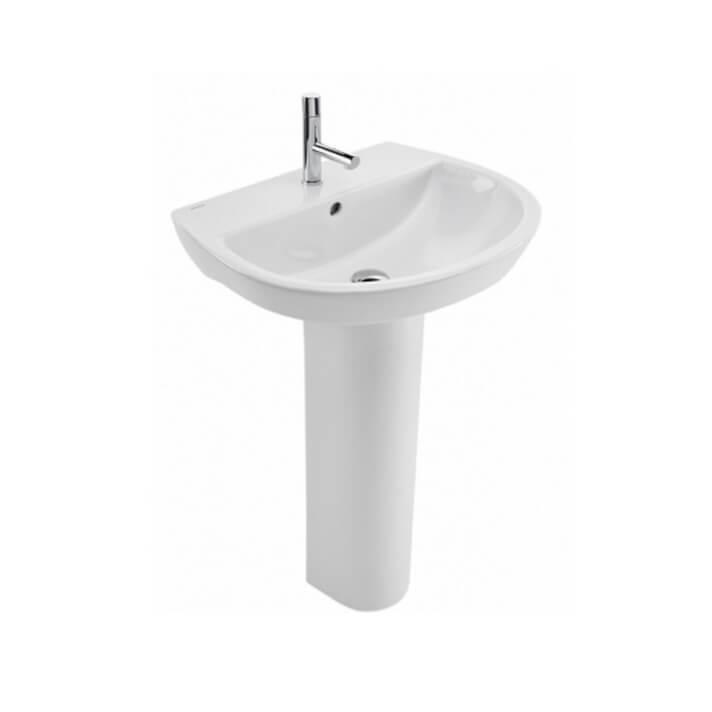 Lavabo con pedestal de 61 cm Easy Unisan