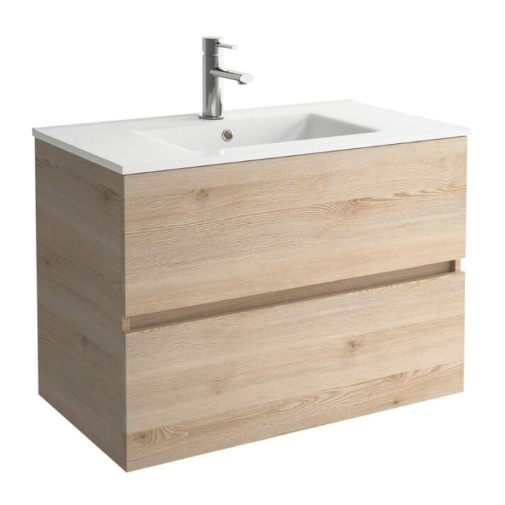 Conjunto baño FUSSION LINE 1000 Natural SALGAR