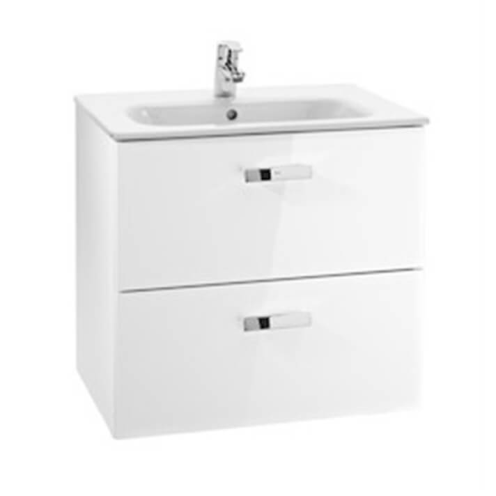 Mueble 2 cajones blanco 60cm Victoria Basic Roca