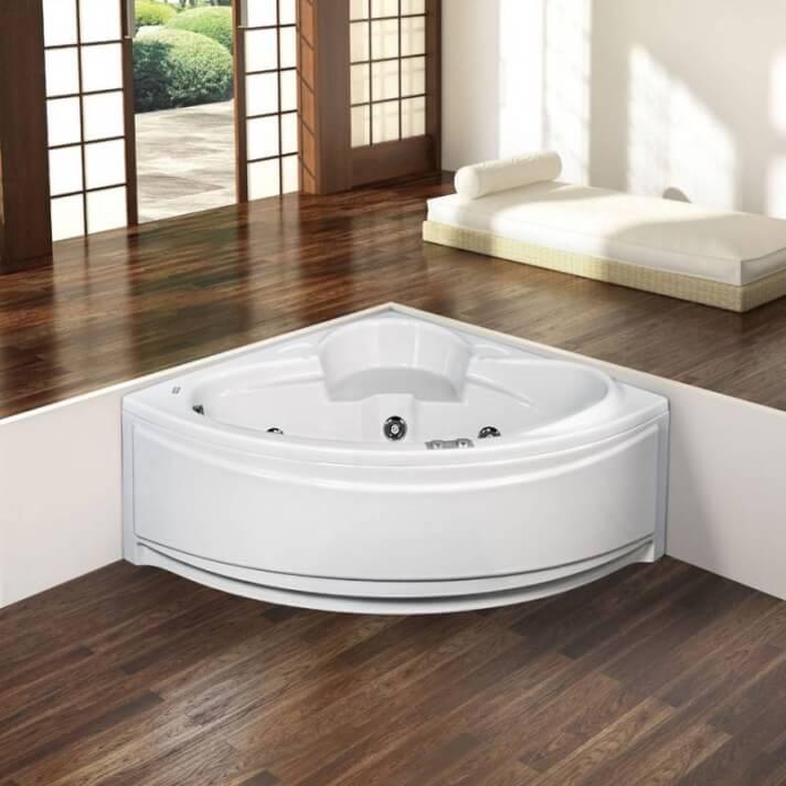 Vasca da bagno 135 cm Géminis Oasis Star