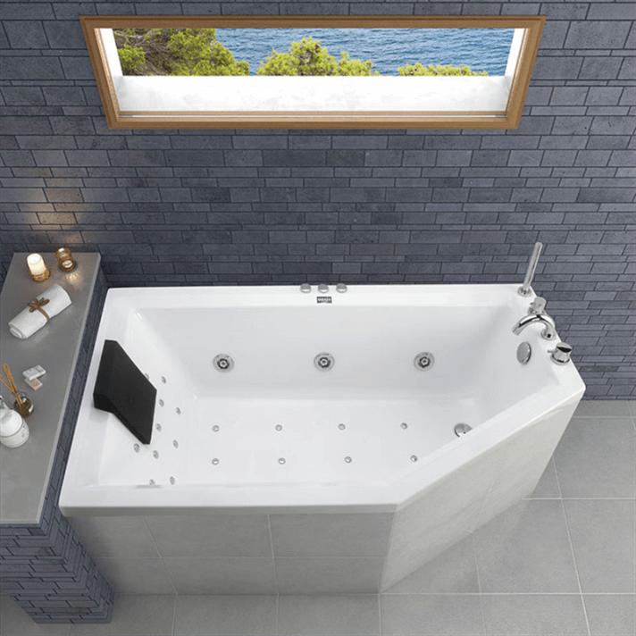 Vasca da bagno in acrilico 160 cm Tiaré Oasis Star