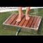 Bases de duche para jardim