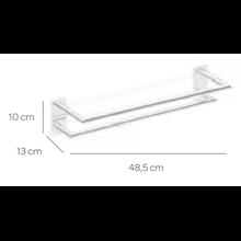 Porte-serviettes double de 50 cm SENSA CO2+