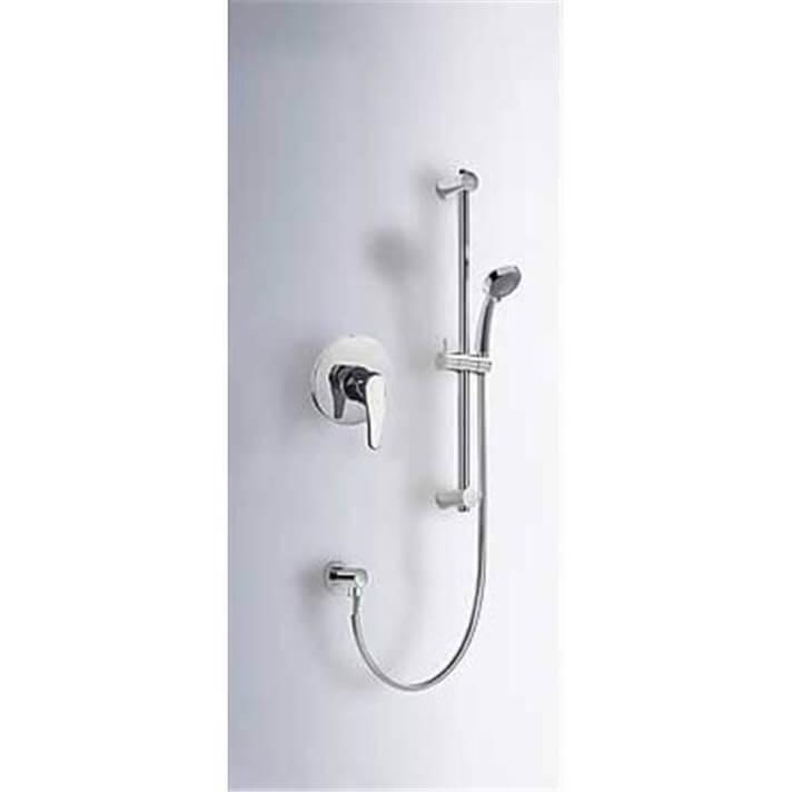 Conjunto ducha empotrado de 1 vía ECO-TRES
