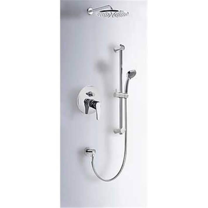 Conjunto ducha empotrado de 2 vías PLUS ECO-TRES