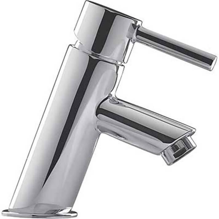 Grifo de lavabo Alplus inclinado caño bajo