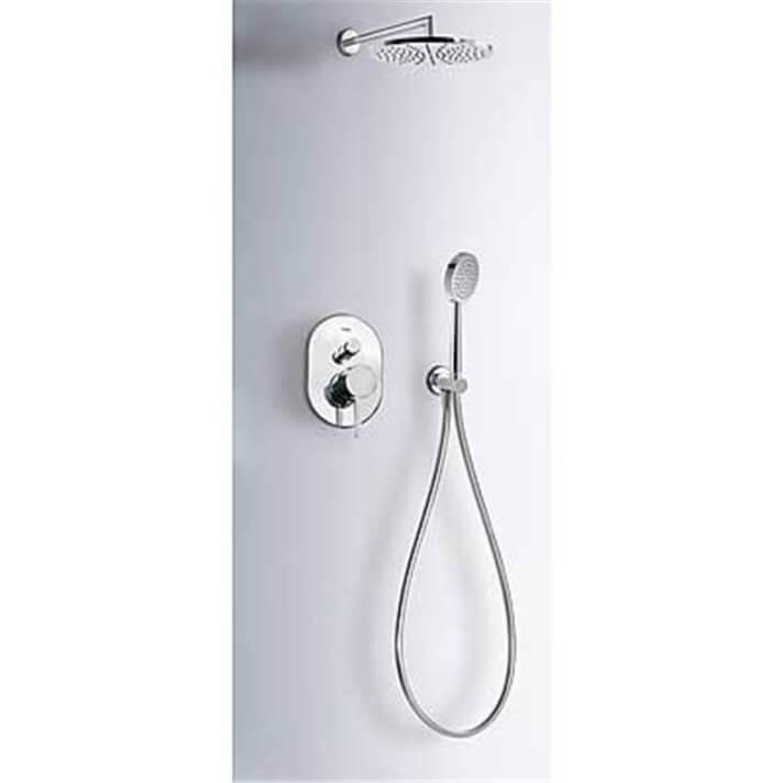 Kit de ducha empotrado Alplus TRES