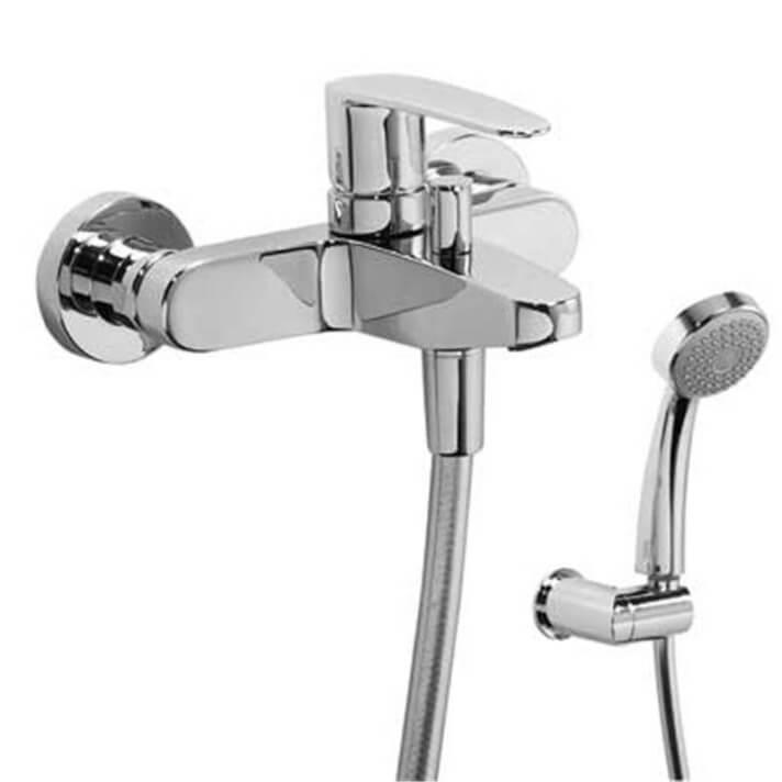 Grifo de bañera-ducha Flat-Tres