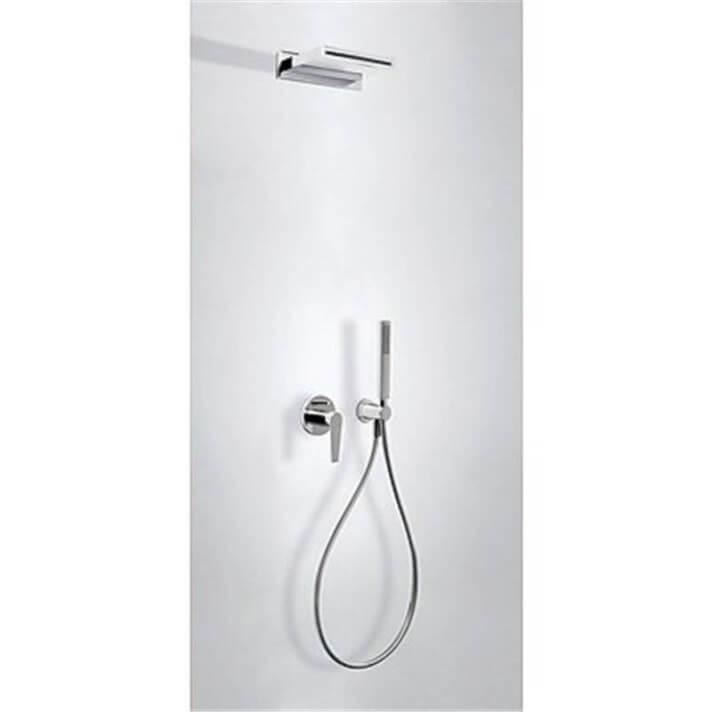 Kit de ducha empotrado CLASS Tres INOX cascada