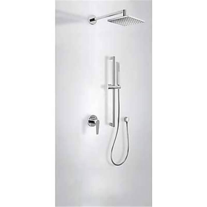 Kit de ducha empotrado CLASS Tres barra deslizante