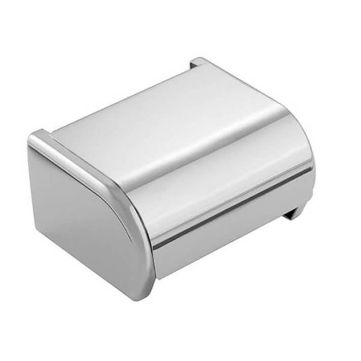 Porta carta igienica a parete con coperchio Arquitecto COSMIC