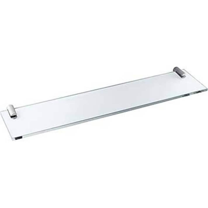 Repisa de cristal baño 40x11 TRES