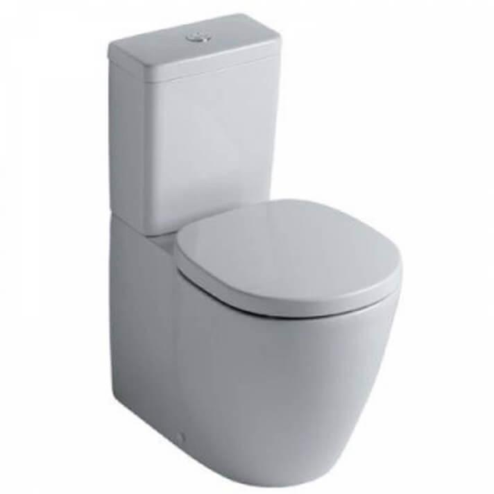 Vaso WC completo compatto CONNECT SPACE Cubico Ideal Standard