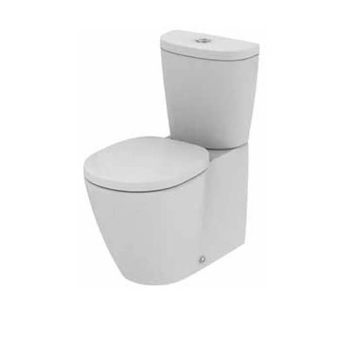 Vaso WC completo compatto CONNECT SPACE Arco Ideal Standard