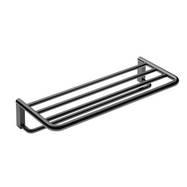 Porta Asciugamani Mensola Black COSMIC