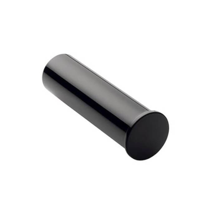 Porta carta igienica semplice Black COSMIC