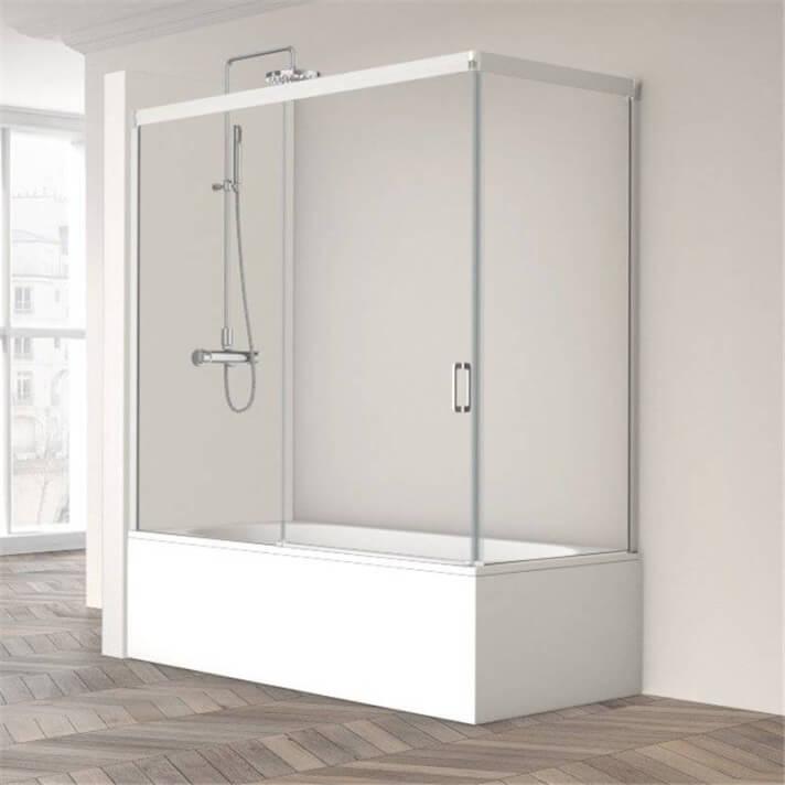 Mampara de bañera Wind-110+190