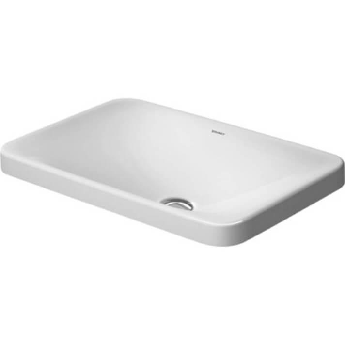 Vasque encastrée P3 Comforts 55 Duravit