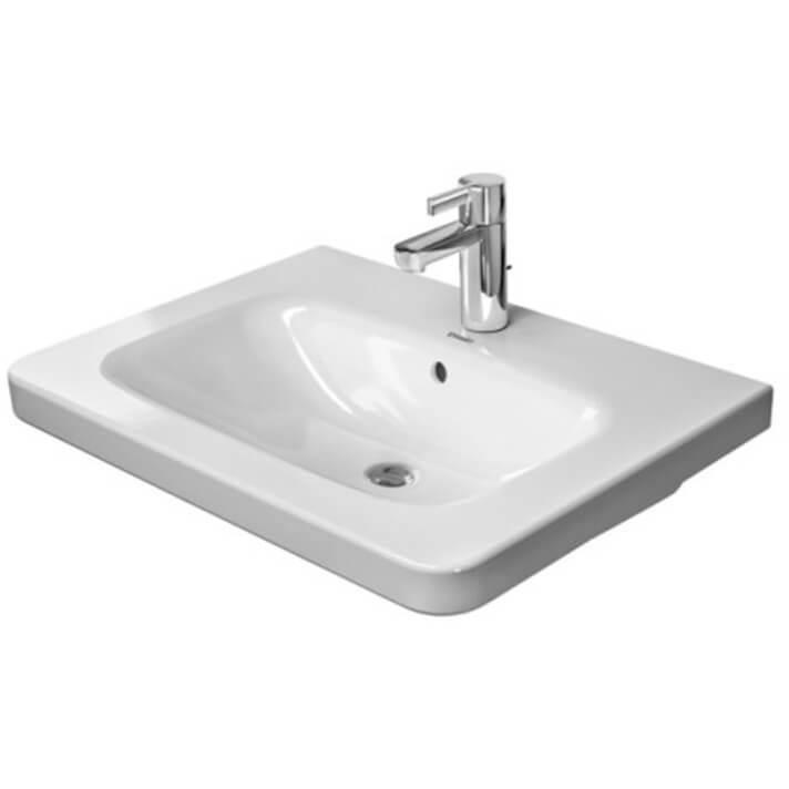 Lavabo per mobile 65 troppopieno DuraStyle Duravit