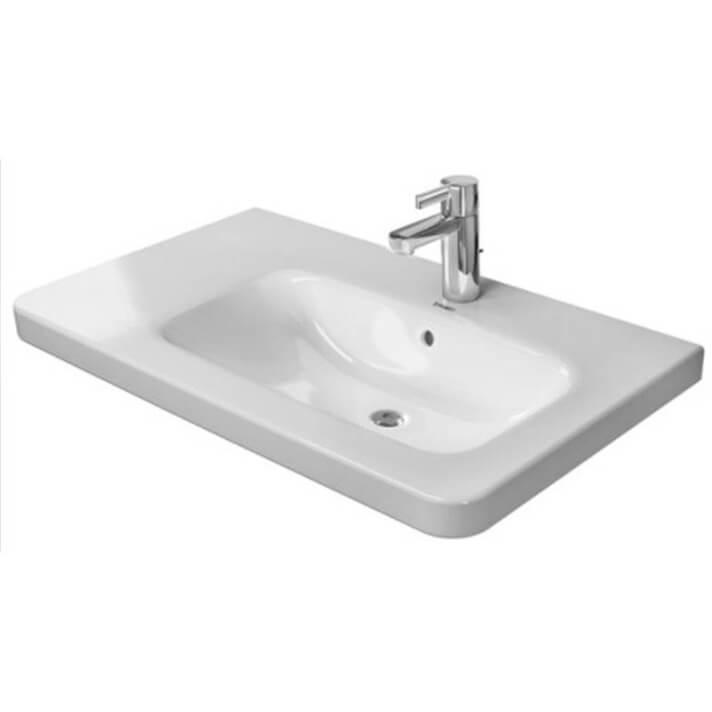 Lavabo asimétrico dcha para mueble 80 DuraStyle Duravit