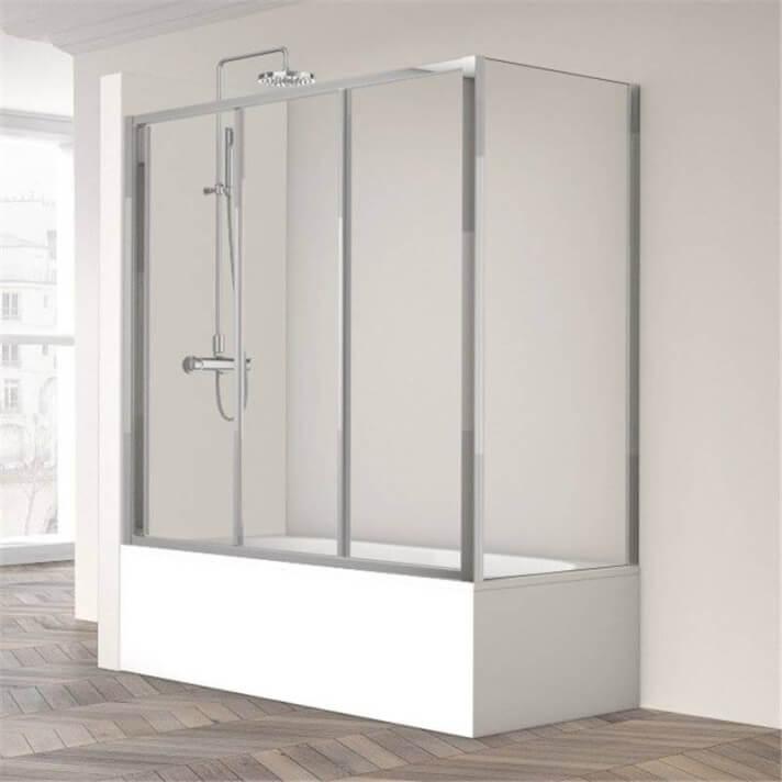Mampara de bañera Ecodux-110+190