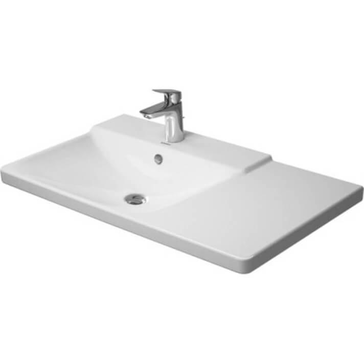 Lavabo asimétrico izq para mueble 85 P3 Comforts Duravit