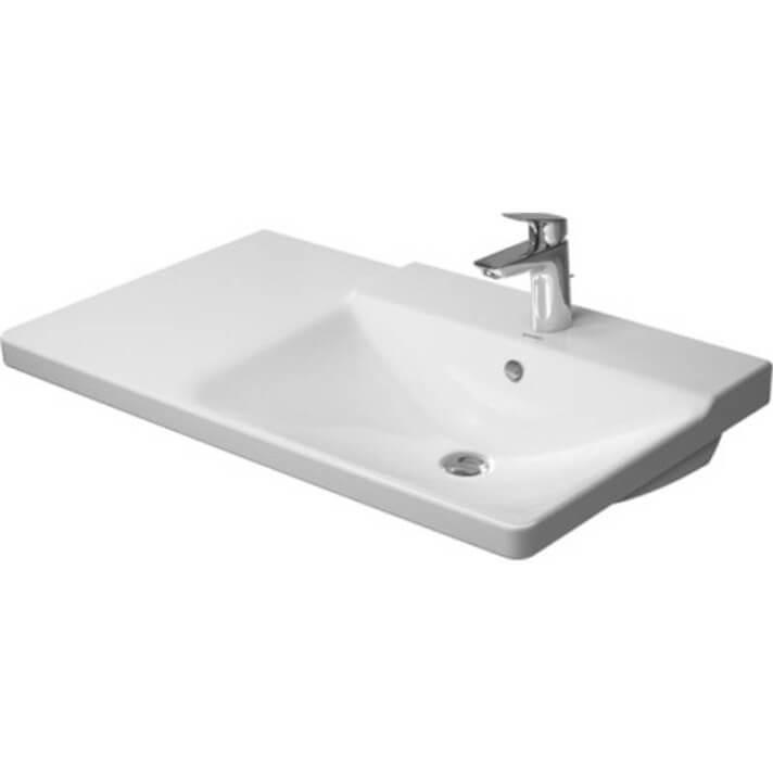 Lavabo asimétrico dcha para mueble 85 P3 Comforts Duravit