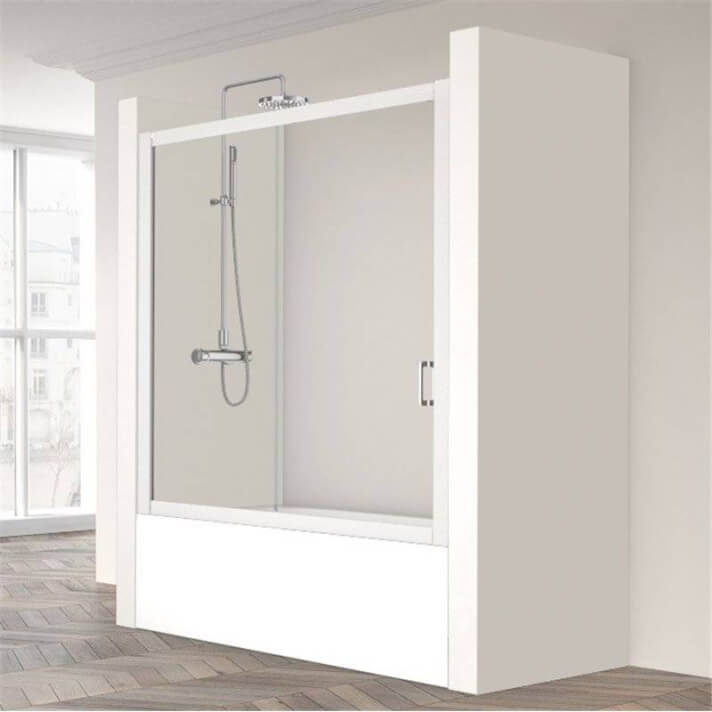 Mampara de bañera Cristaldux-110