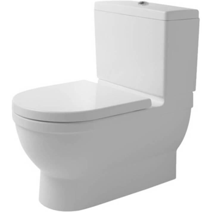 Sanita completa dual tanque baixo Big Toilet Starck 3 - DURAVIT