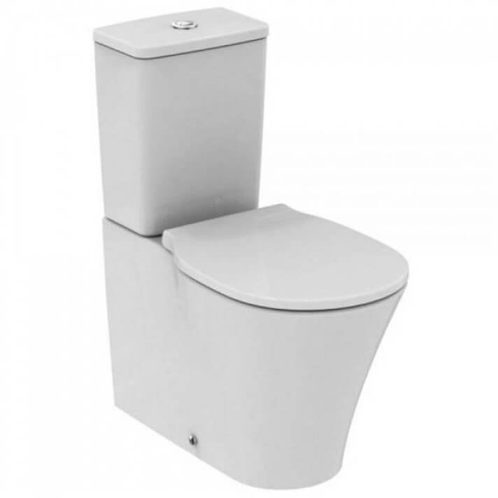 Vaso WC completo compatto CONNECT AIR Cubico Ideal Standard
