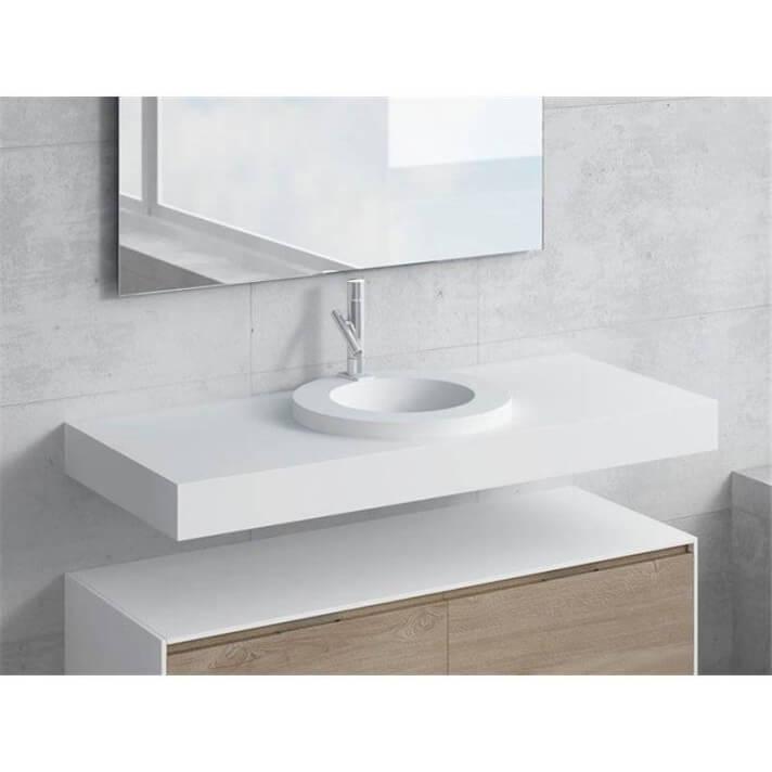 Conjunto encimera+lavabo LARES NATUGAMA