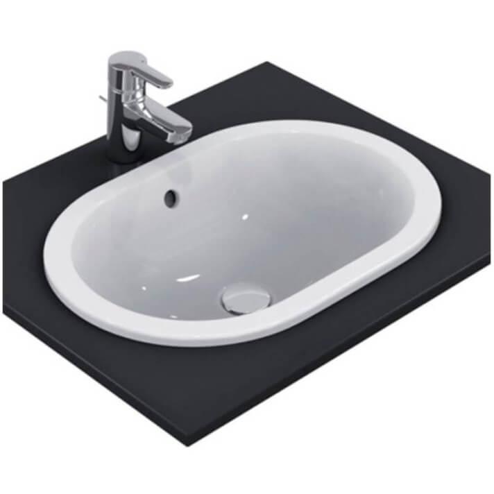 Lavabo encastrado ovalado 55 Connect Ideal Standard