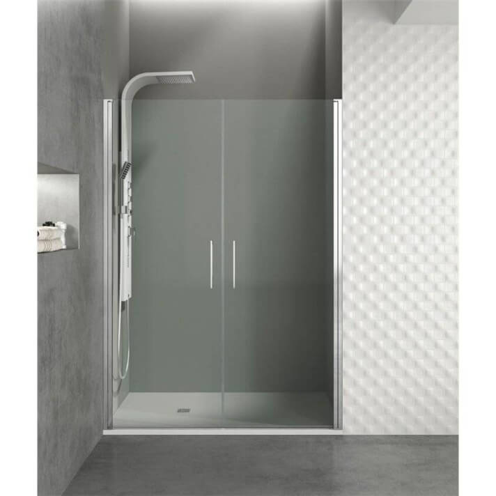 Box doccia frontale 2 porte a battente OPEN GME