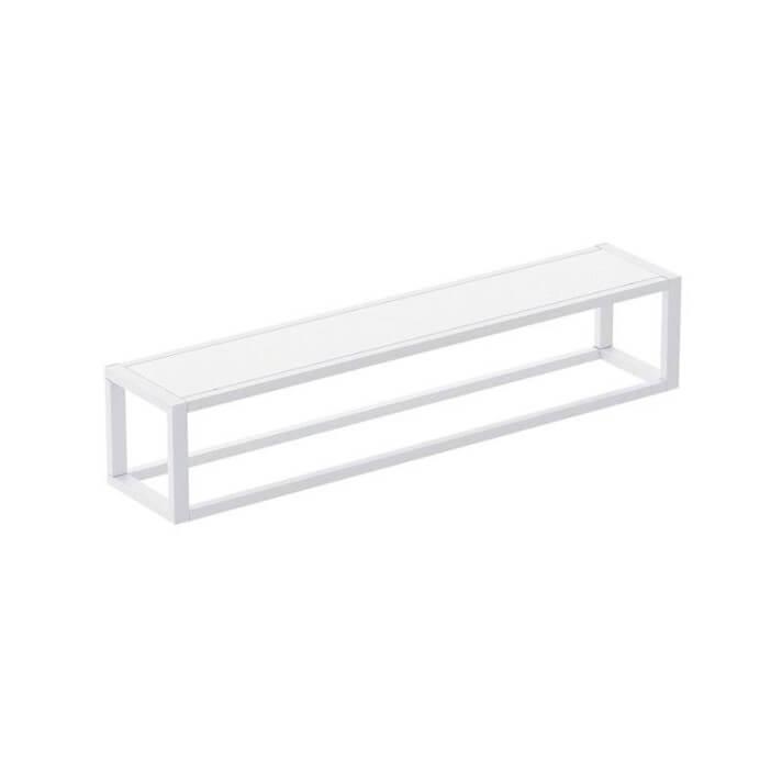 Porta Asciugamani con mensola Bianco XL The Grid COSMIC
