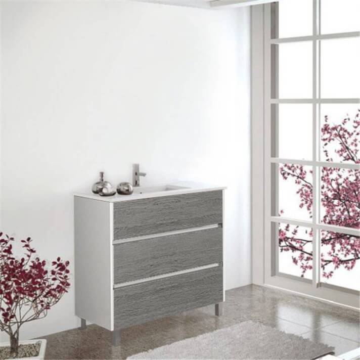 Mueble con lavabo Combi 60 Imperia TEGLER