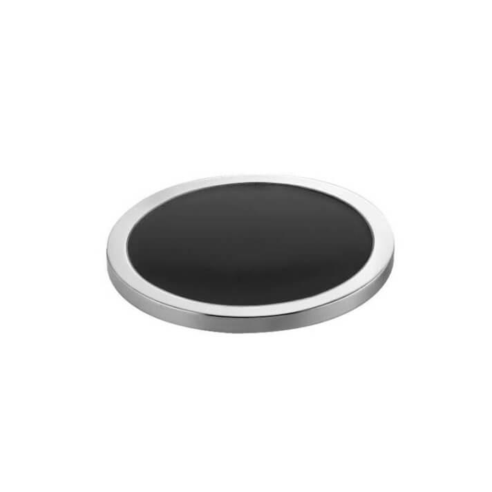 Porte-savon noir-chromé project COSMIC