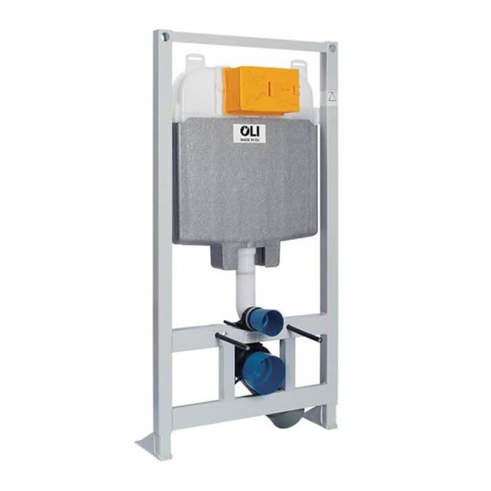 Cisterna empotrada OLI74 PLUS Sanitarblock Hidroboost