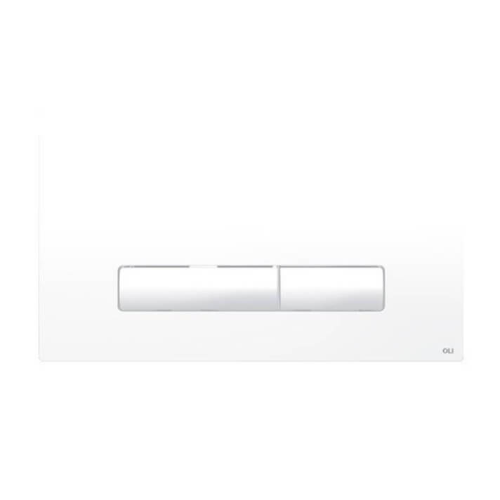 Placa pulsadora Glam blanco OLI