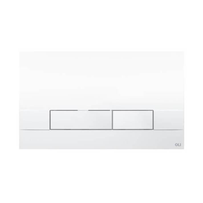 Placa pulsadora Narrow blanco OLI